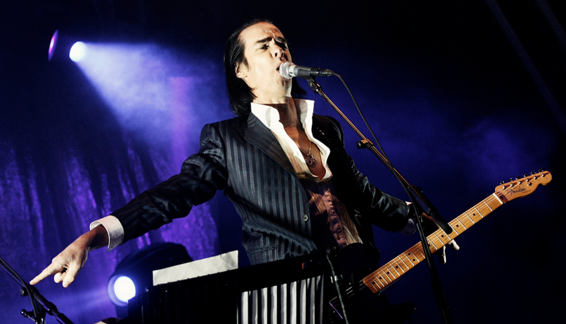 NICK CAVE. PIC BY: SERGIO ALBERT